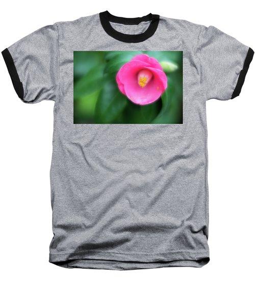 Soft Focus Flower 1 Baseball T-Shirt