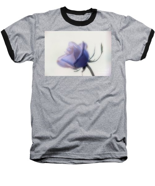 Soft Focus Rose Baseball T-Shirt