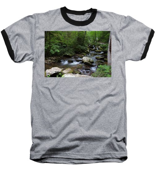 Soft Georgia Stream Baseball T-Shirt
