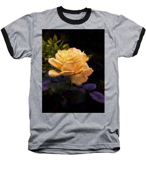 Soft Gold Rose Baseball T-Shirt