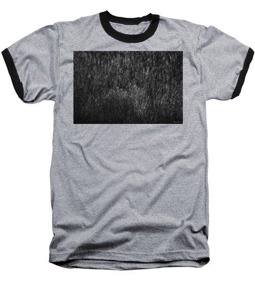 Soft Grass Black And White Baseball T-Shirt
