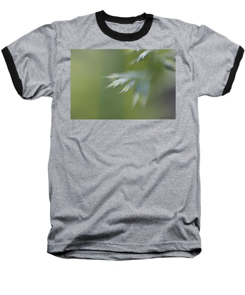 Baseball T-Shirt featuring the photograph Soft Green by Michaela Preston