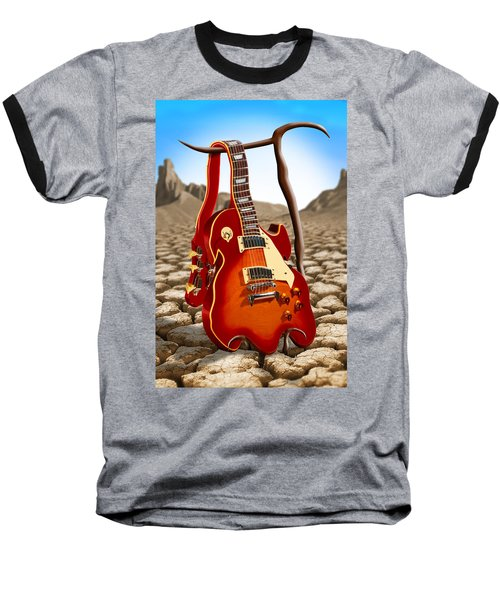 Soft Guitar Baseball T-Shirt