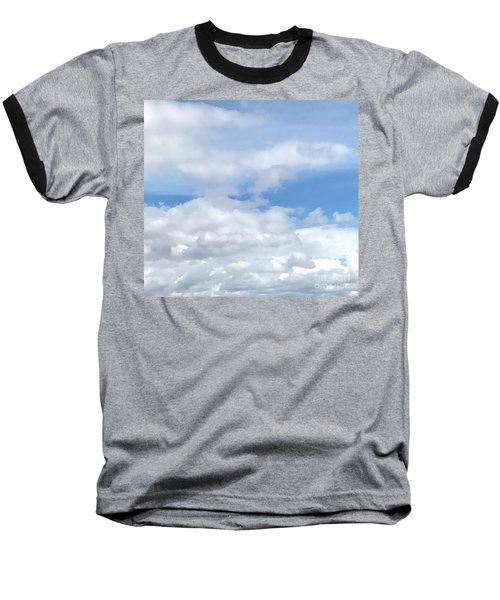 Soft Heavenly Clouds Baseball T-Shirt