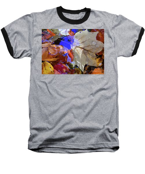 Soft Light Leaves Baseball T-Shirt