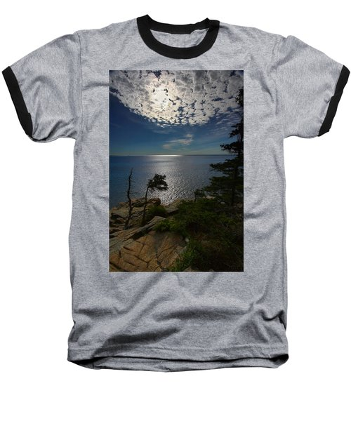 Soft Light On Otter Point Baseball T-Shirt