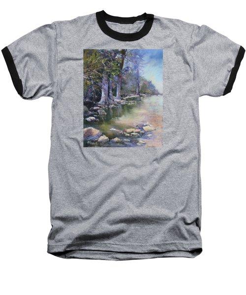Soft Light On The Pedernales Baseball T-Shirt