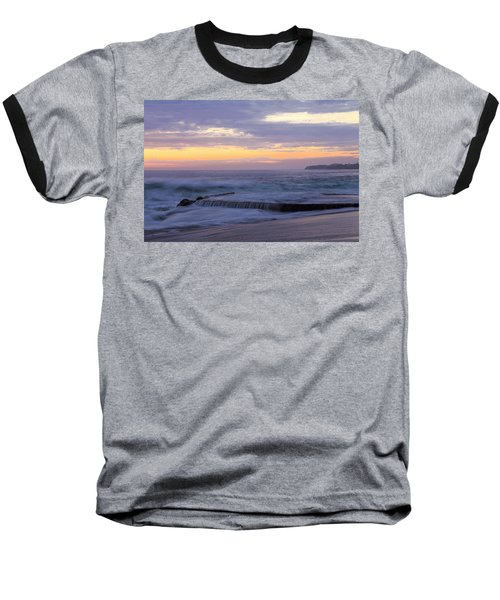 Baseball T-Shirt featuring the photograph Soft Light On Victoria Beach by Viktor Savchenko