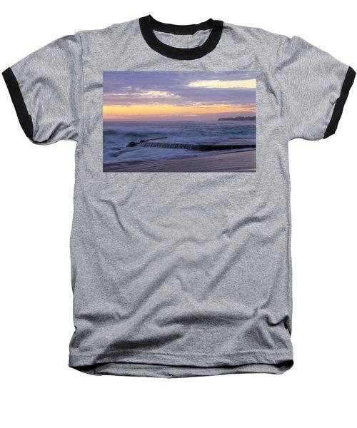 Soft Light On Victoria Beach Baseball T-Shirt