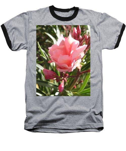 Soft Pink Blush Baseball T-Shirt
