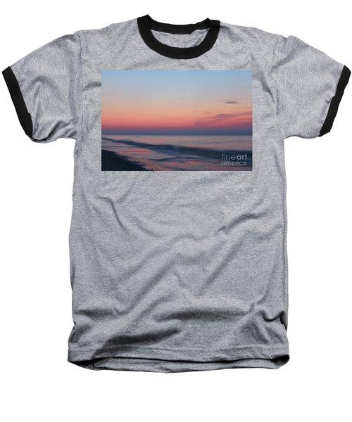 Soft Pink Sunrise Baseball T-Shirt