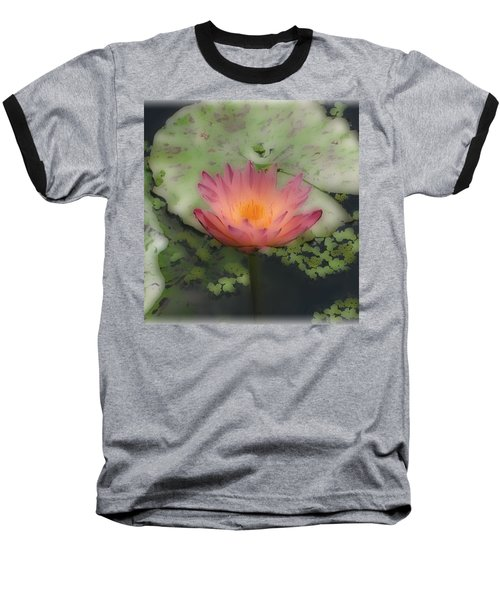 Baseball T-Shirt featuring the photograph Soft Touch Lily by Debra     Vatalaro