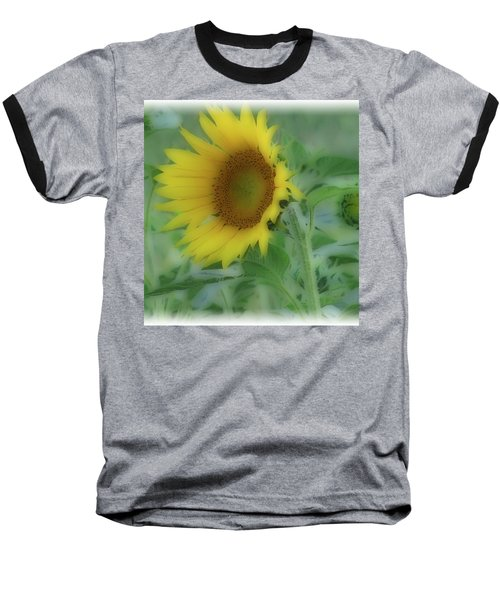 Baseball T-Shirt featuring the photograph Soft Touch Sunflower by Debra     Vatalaro