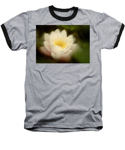 Baseball T-Shirt featuring the photograph Soft Water Lily by Richard Cummings