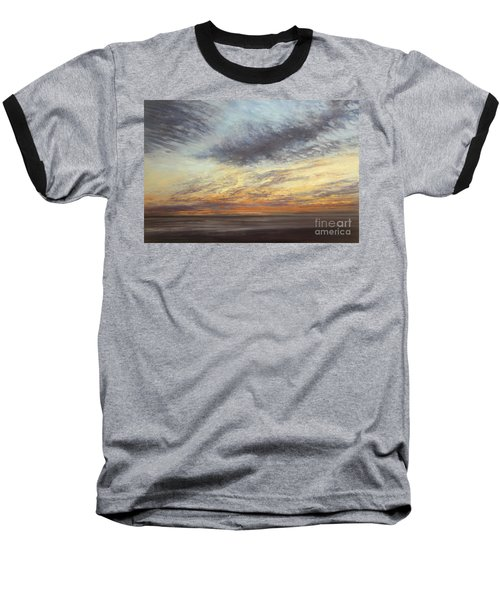 Softly, As I Leave You Baseball T-Shirt by Valerie Travers