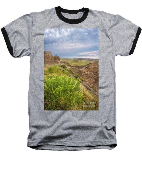 Softly Rumbling Sky Baseball T-Shirt