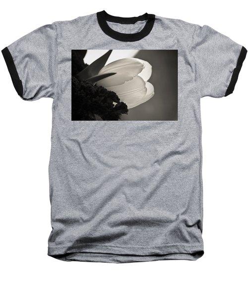 Lit Tulip Baseball T-Shirt by Marilyn Hunt