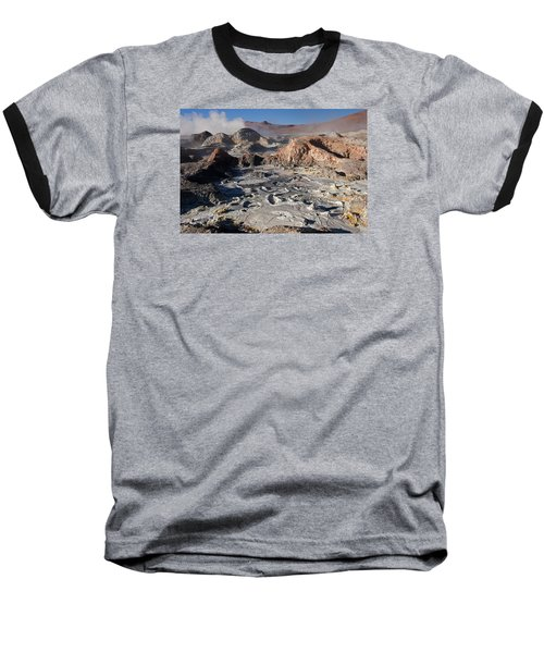 Sol De Manana Geothermal Field  Baseball T-Shirt