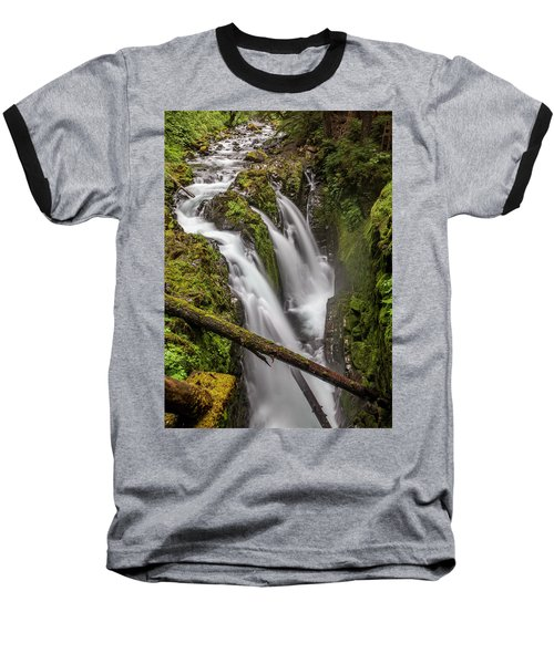 Sol Duc Falls Baseball T-Shirt