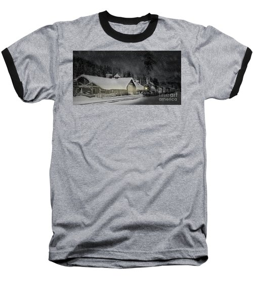 Solace From The Storm Baseball T-Shirt by Brad Allen Fine Art