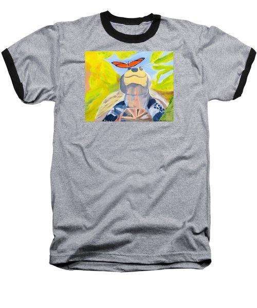Solace Baseball T-Shirt by Meryl Goudey