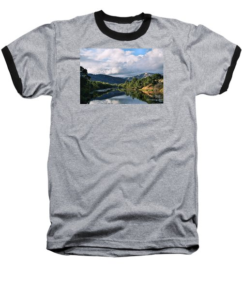 Solano Lake In The Fall Baseball T-Shirt