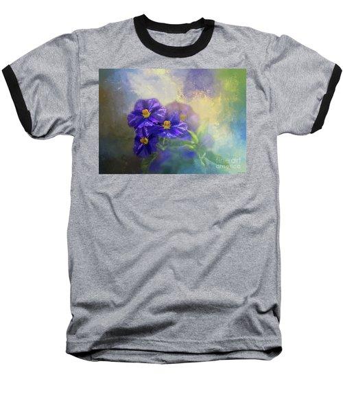Solanum Baseball T-Shirt by Eva Lechner
