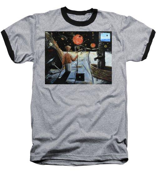 Solar Broadcast -transition- Baseball T-Shirt