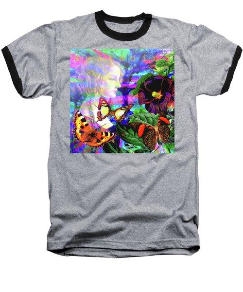 Solar Daydreamer Baseball T-Shirt by Joseph Mosley