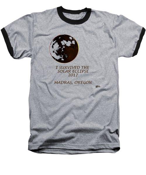 Solar Eclipse 2017 Baseball T-Shirt