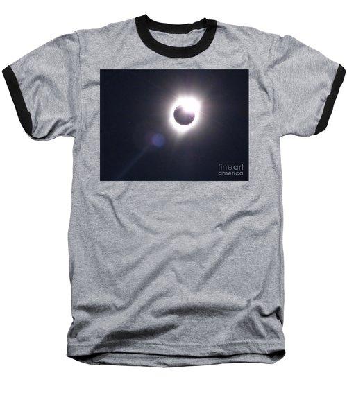 Solar Eclipse 2017 Lens Flare Baseball T-Shirt