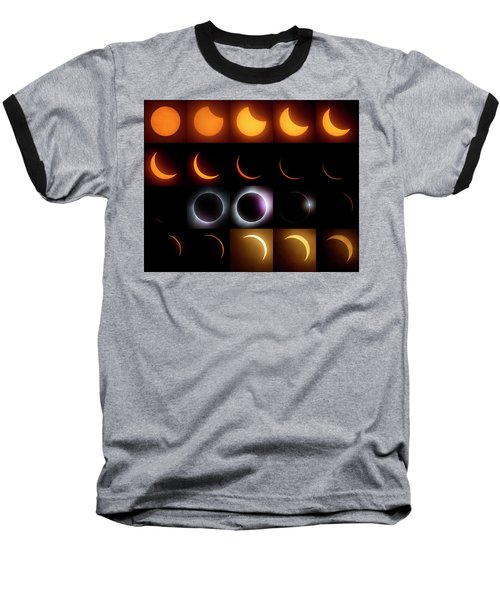 Solar Eclipse - August 21 2017 Baseball T-Shirt
