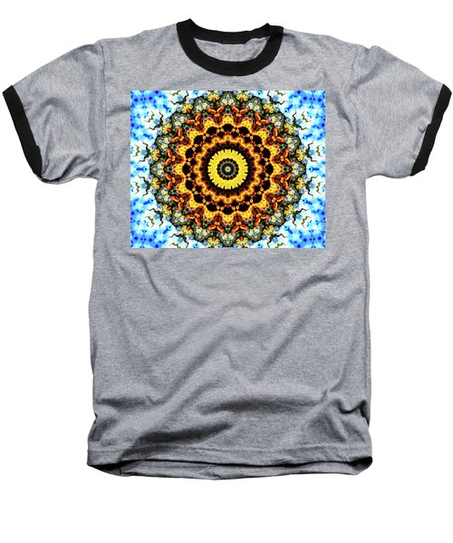Baseball T-Shirt featuring the digital art Solar Flare 2 by Wendy J St Christopher