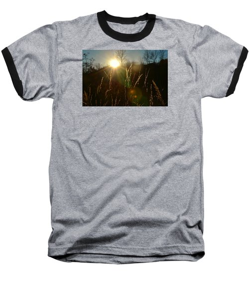 Baseball T-Shirt featuring the photograph Solar Flares by Nikki McInnes