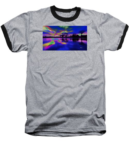 Solar Sunset Baseball T-Shirt