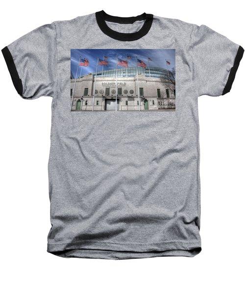 Soldier Field Baseball T-Shirt