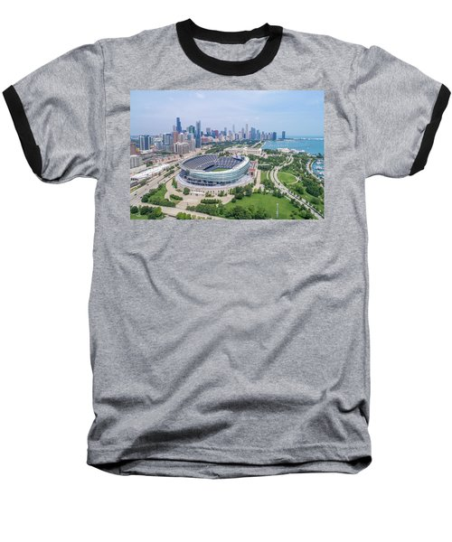 Baseball T-Shirt featuring the photograph Soldier Field by Sebastian Musial