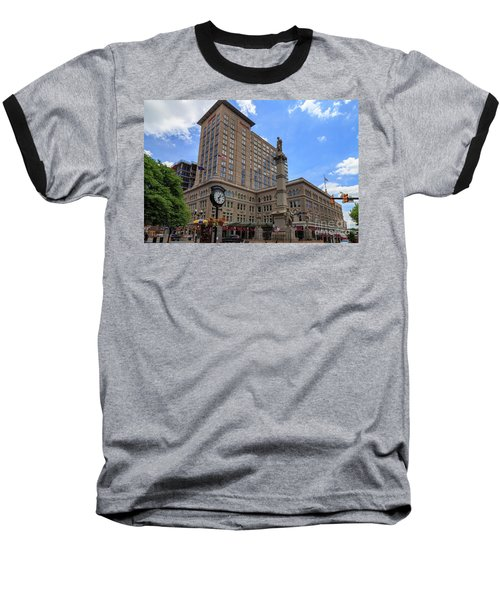 Soldiers Monument In Penn Square In Lancaster Pa Baseball T-Shirt