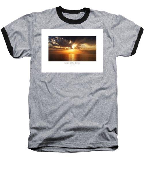 Soleil D'or - Corfu Baseball T-Shirt