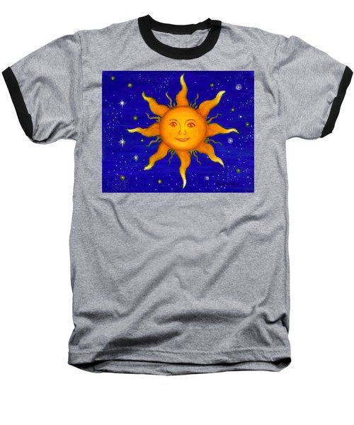 Baseball T-Shirt featuring the painting Soleil by Sandra Estes