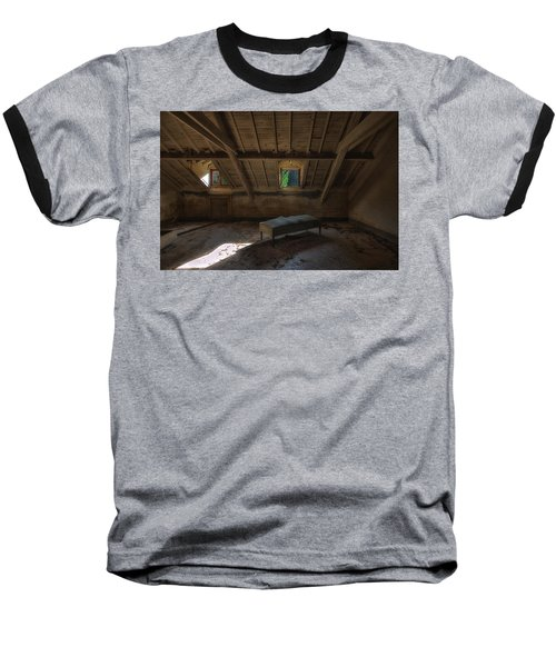 Solitary Bed Under The Roof  - Letto Solitario Sotto Il Tetto Baseball T-Shirt