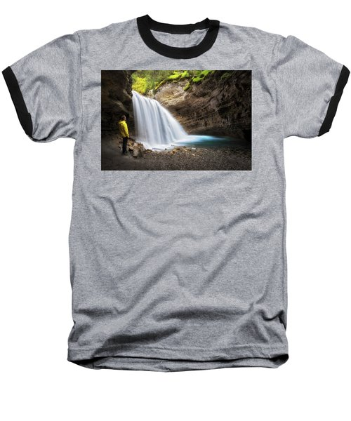 Solitary Moment Baseball T-Shirt by Nicki Frates
