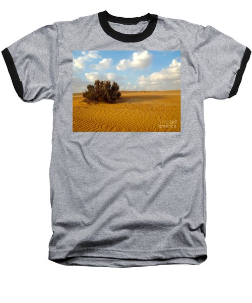 Solitary Shrub Baseball T-Shirt