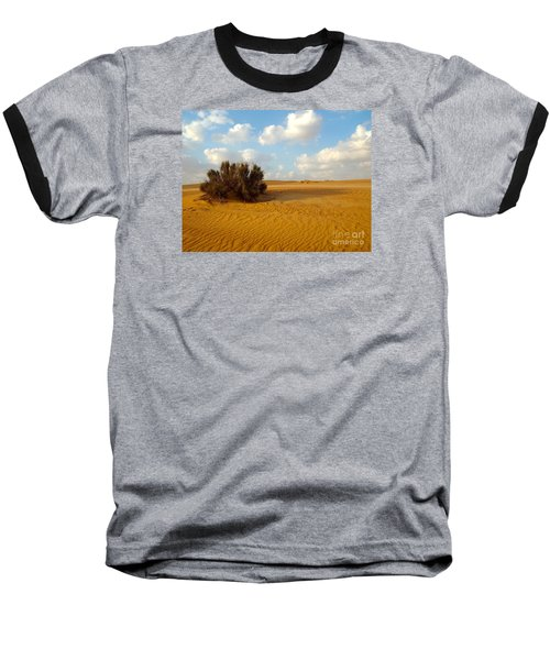 Solitary Shrub Baseball T-Shirt