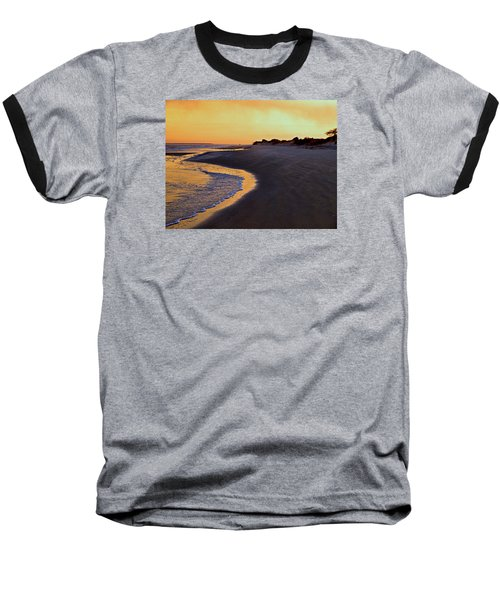 Baseball T-Shirt featuring the photograph Solitary Walker by Laura Ragland