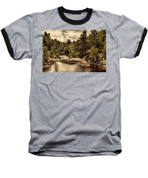 Solitary Wilderness Baseball T-Shirt