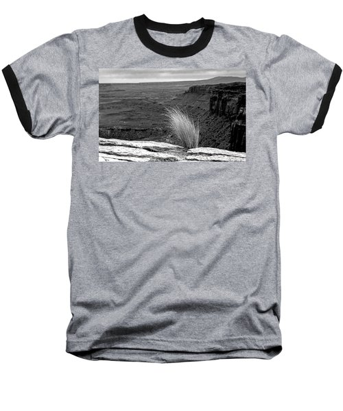 Solitude Baseball T-Shirt by Alex Galkin