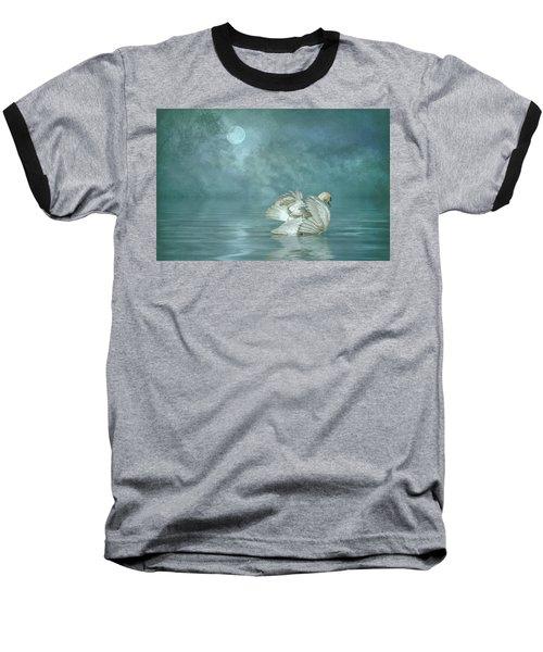 Solitude Baseball T-Shirt by Brian Tarr