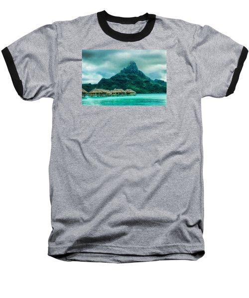 Solitude In Bora Bora Baseball T-Shirt