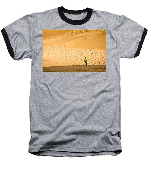 Solitude In The Dunes Baseball T-Shirt
